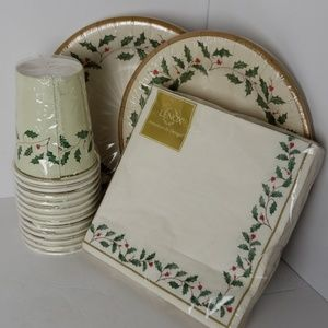 Holiday Lenox dinnerware
